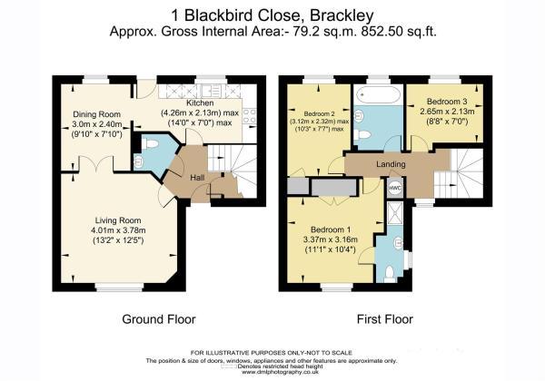 1 Blackbird Close, B
