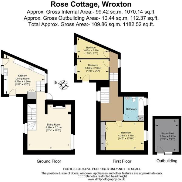 Rose Cottage, Wroxto