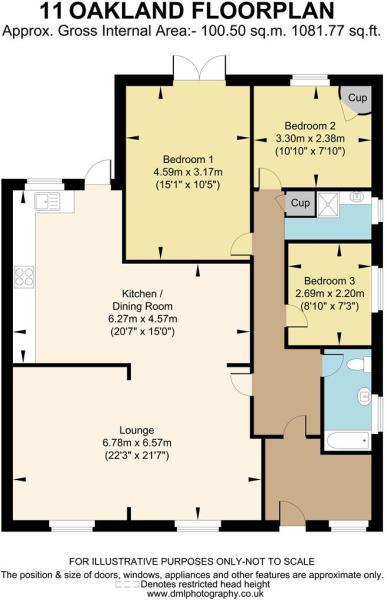 11 Oakland floorplan