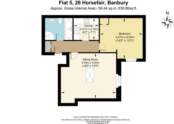 Flat 5, 26 Horsefair