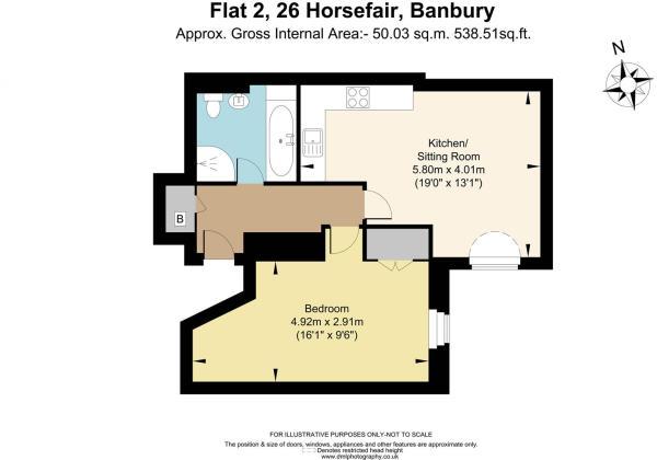 Flat 2, 26 Horsefair