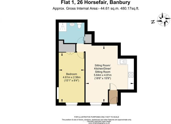 Flat 1, 26 Horsefair
