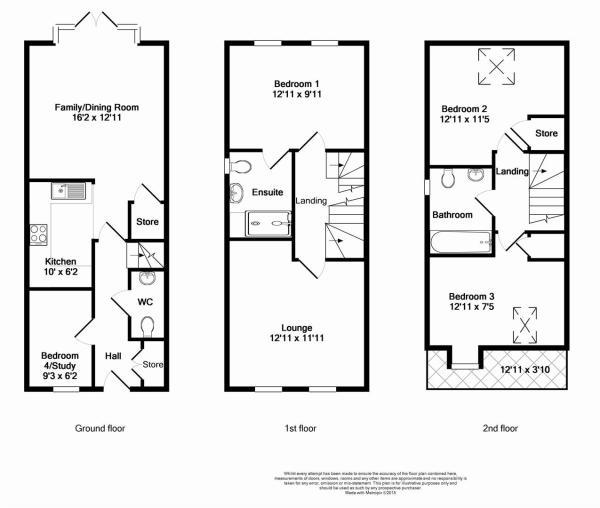Floorplan for Barrat