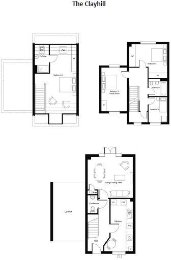 The Clayhill - 4 bed