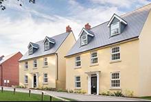 David Wilson Homes Exeter, Hillside Gardens