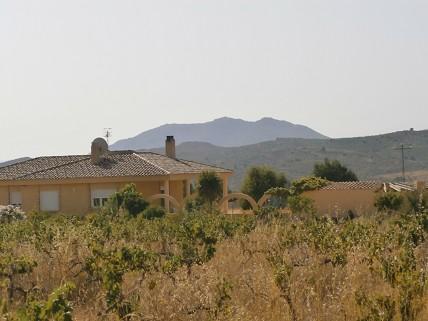 Villa and Backdrop