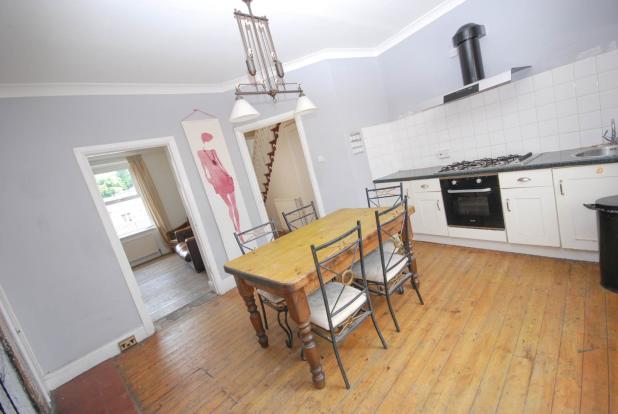 Dining kitchen view
