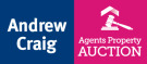 Andrew Craig Residential Sales and Lettings, Auction logo