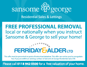 Get brand editions for Sansome & George Residential Sales Ltd, Central Tilehurst - New office
