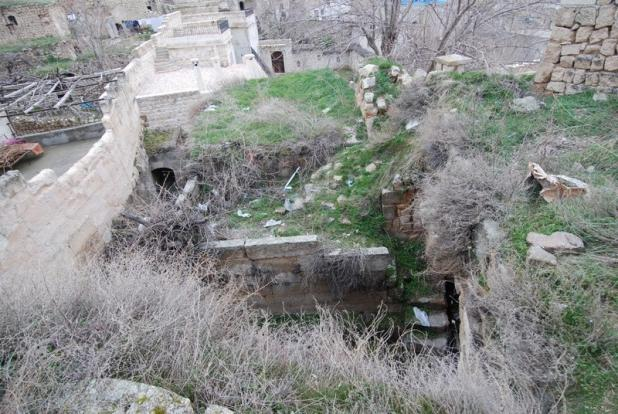 Caves from terraces