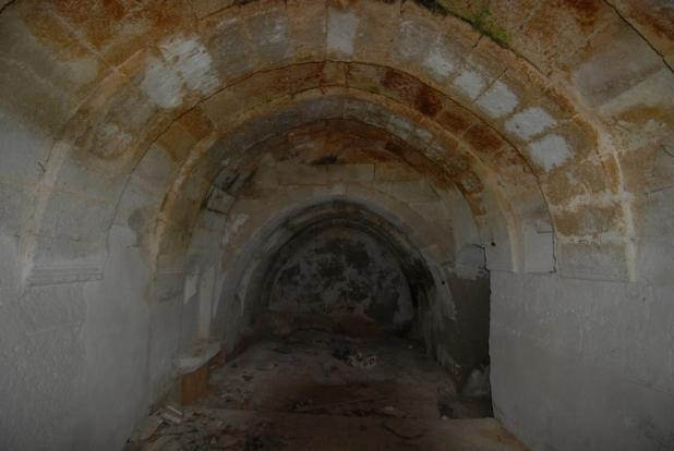Arched room