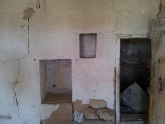 Upper room niches