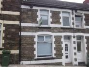 Terraced house in Usk Road, Bargoed, CF81