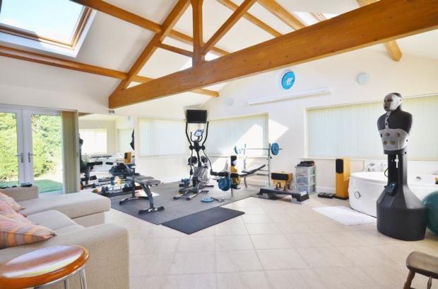 Gym/family room