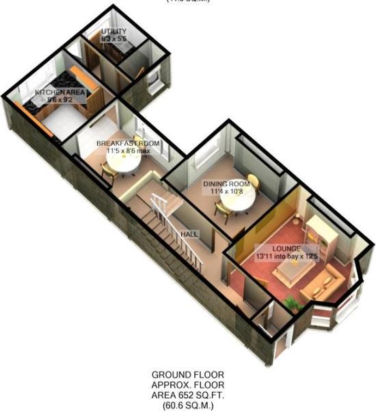 **3D Floor Plan _ Gr