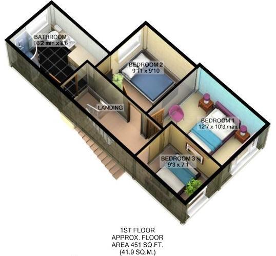 **3D Floor Plan _ Fi
