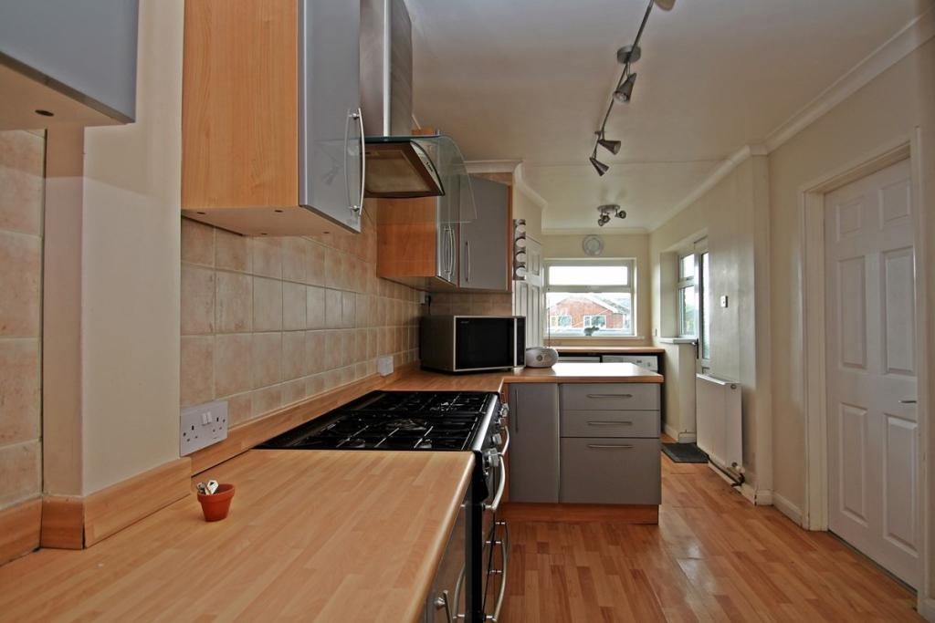 Large Kitchen With U