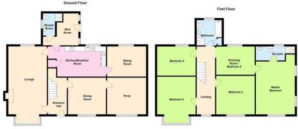 The Willows, East Hanningfield Road, Rettendon - FLOOR PLAN