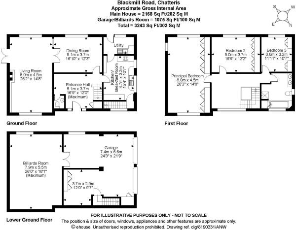 3 Bedroom Detached House For Sale In Blackmill Road: commercial building plans for sale