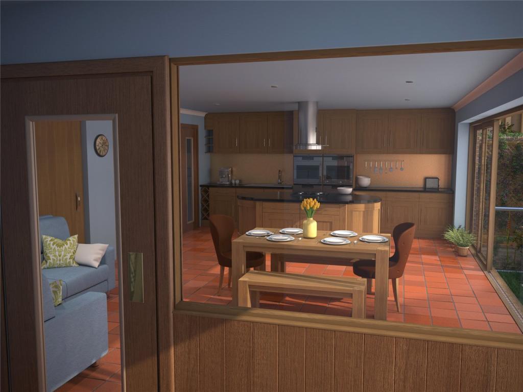 Kitchen/Diner/Hall