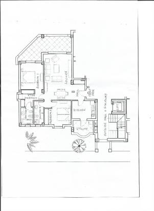 Plan of Apartment 2