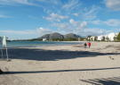 Beach at 100 mts