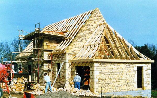 House under construc