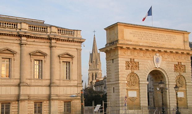Montpellier old town