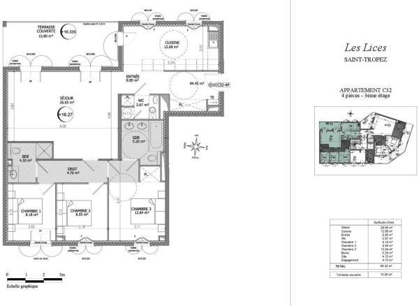 Flat floor plan