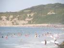 Surfing in Hendaye