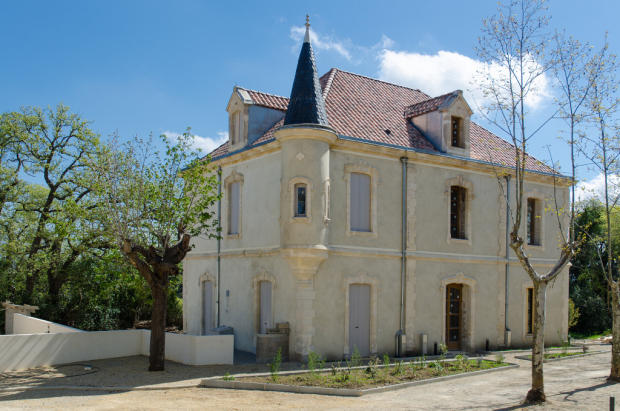Renovated castle