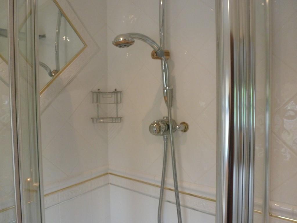 Shower En suite bed