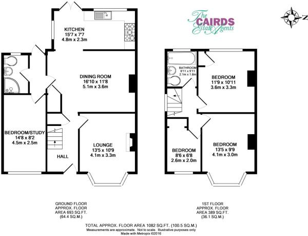 Derek Ave floor plan
