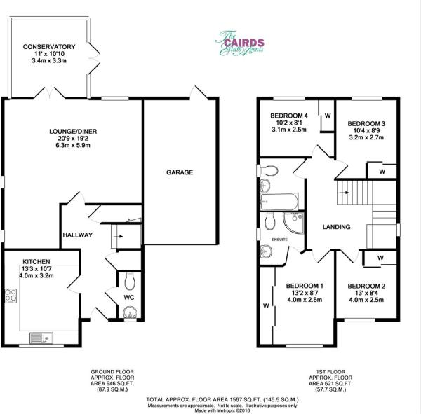 3 Anmer Close floor