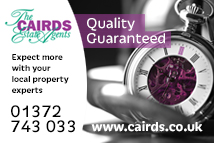 Cairds The Estate Agents, Epsom - SALES