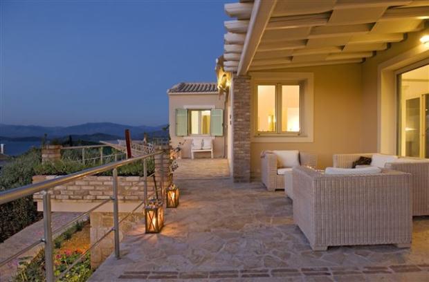 evening on the veranda