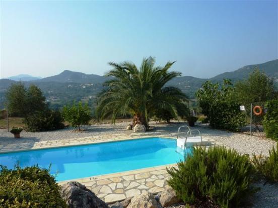 Pool and view villa no.2