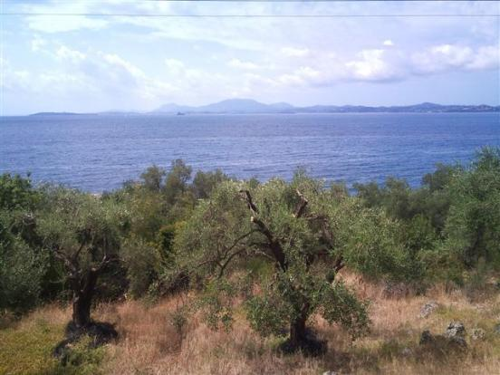 Land and sea view