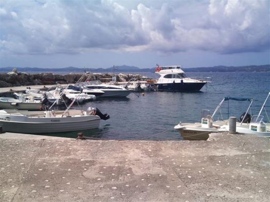 Nissaki harbour
