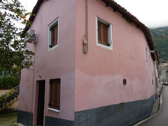 The house from the village street