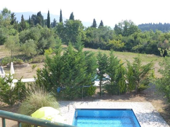 view over the neighbouring garden