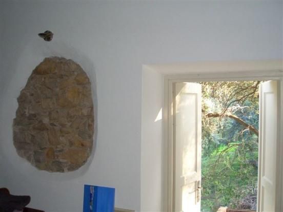 stone feature on wall