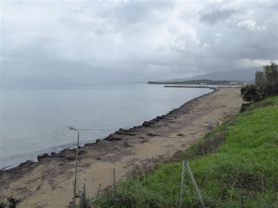 land and beach