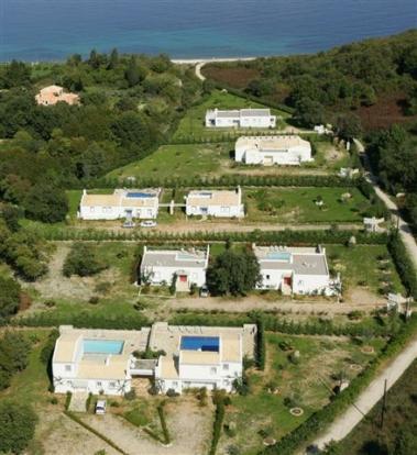 Villa No. 2 is bottom left