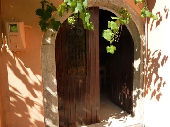 Door onto terrace