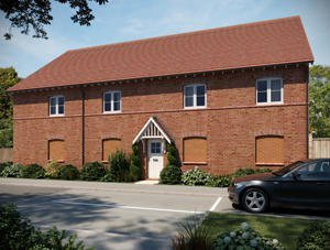 Cygnet Mews by Barratt Homes, Crowsley Road,