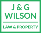 J & G Wilson Solicitors, Kinross branch logo