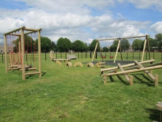 Playground on Green