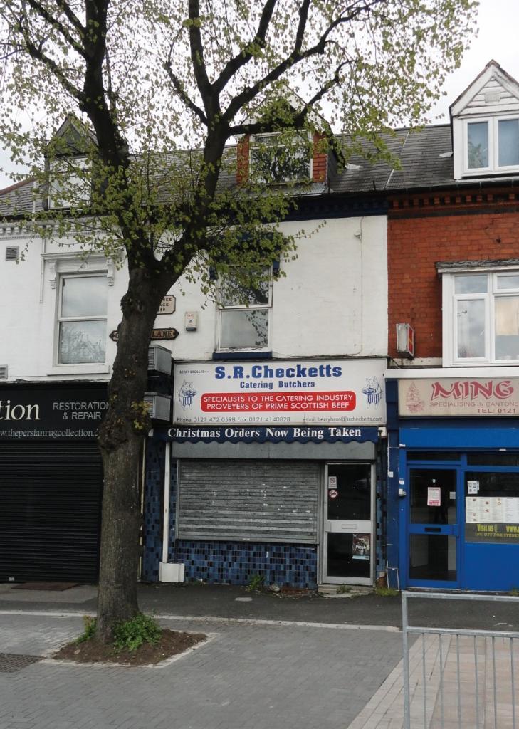 Shop For Sale In Oak Tree Lane Selly Oak Birmingham B29