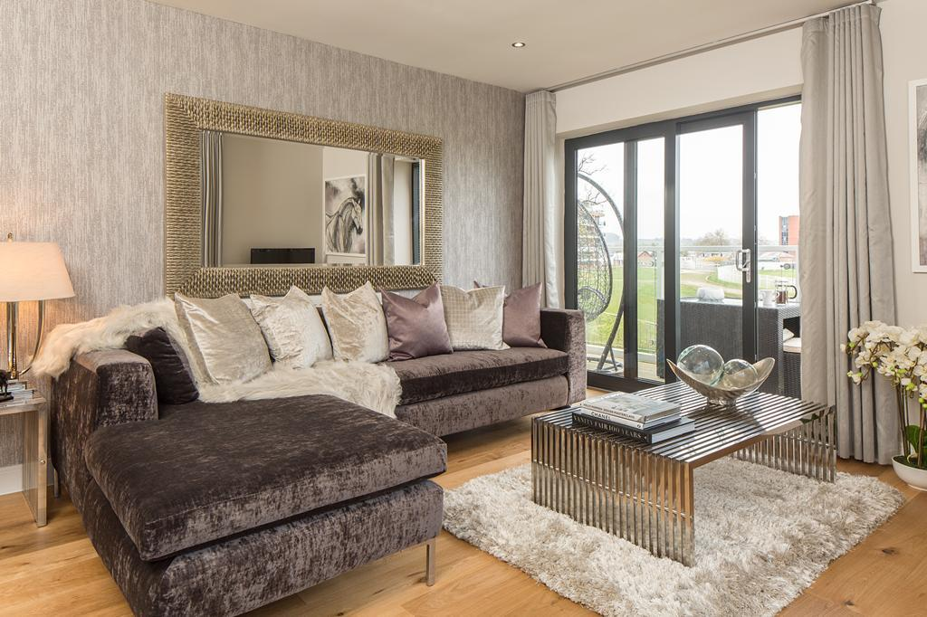 living at Newbury Racecourse